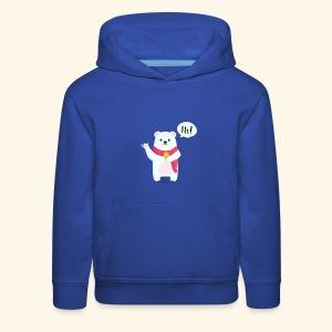 Adorable Bear - Kids' Premium Hoodie