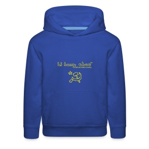 Full Li Huan Chao Logo Black+Yellow - Kids' Premium Hoodie