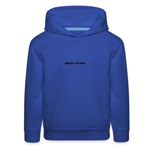 grenade purple hoodie - Kids' Premium Hoodie