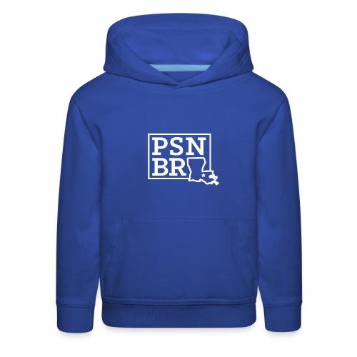 PSN BR Blue on White - Kids' Premium Hoodie
