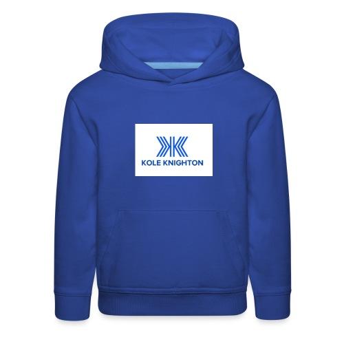 Kole Knighton Merch - Kids' Premium Hoodie