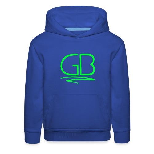 Green GB logo - Kids' Premium Hoodie
