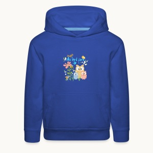 NATURE - Ellis Bird Farm - Carolyn Sandstrom - Kids' Premium Hoodie