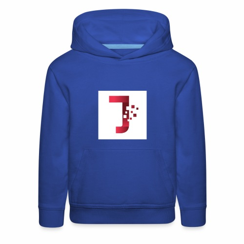 JiltedStarfish7 logo - Kids' Premium Hoodie