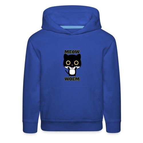 MEOW CAT T-SHIRT - Kids' Premium Hoodie