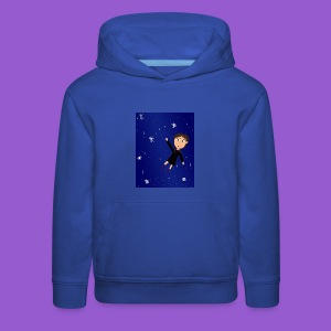 flying space girl - Kids' Premium Hoodie