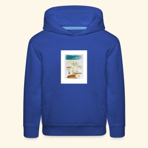Traver and His Dog - Kids' Premium Hoodie