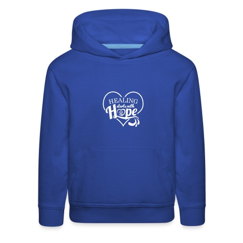 Healing with Hope - Kids' Premium Hoodie