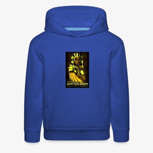 Egypt God Anubis Logo - Kids' Premium Hoodie