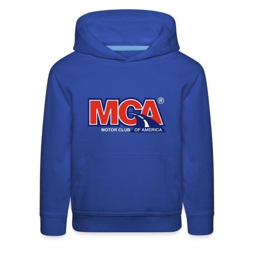 MCA Logo Transparent - Kids' Premium Hoodie