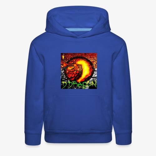 Damian Dragon Logo - Kids' Premium Hoodie