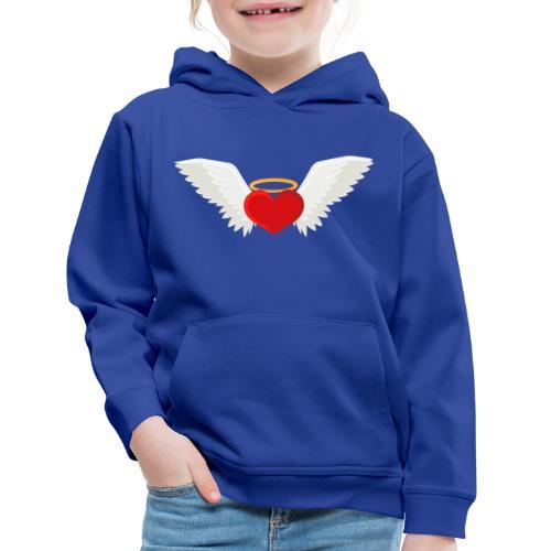 Winged heart - Angel wings - Guardian Angel - Kids' Premium Hoodie