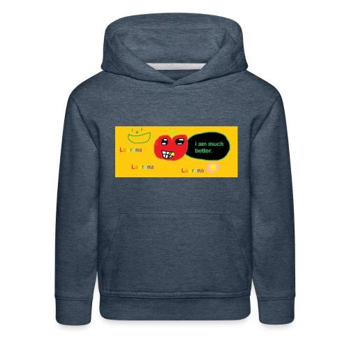 pechy vs apple - Kids' Premium Hoodie