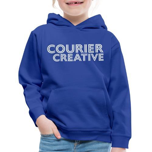 Courier Creative Logo - Kids' Premium Hoodie