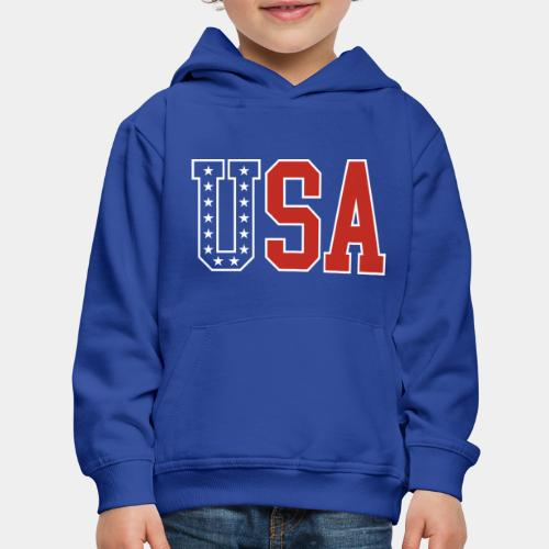 usa united states america - Kids' Premium Hoodie
