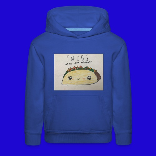 Tacos are my Spirit Animal - Kids' Premium Hoodie