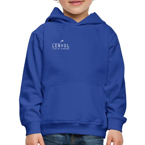 logo-envol-big-white - Kids' Premium Hoodie