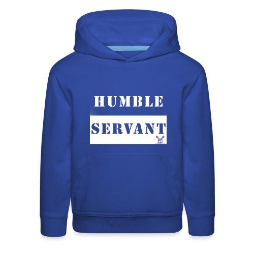 Humble Servant - Kids' Premium Hoodie