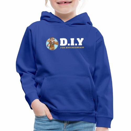 DIY For Knuckleheads Logo. - Kids' Premium Hoodie