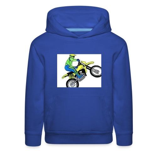 moto bikes - Kids' Premium Hoodie