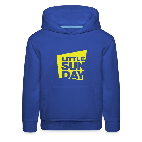 littleSUNDAY Official Logo - Kids' Premium Hoodie