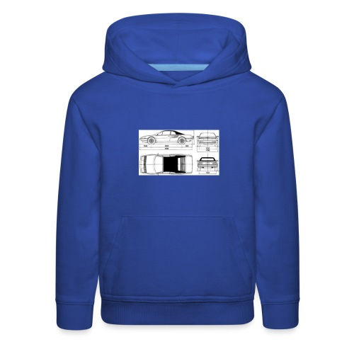 artists rendering - Kids' Premium Hoodie