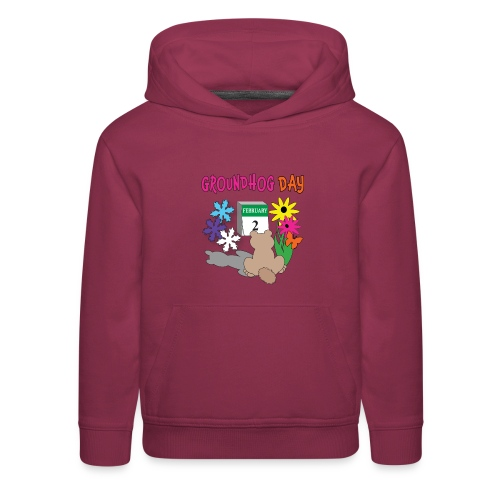 Groundhog Day Dilemma - Kids' Premium Hoodie