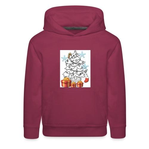 Christmas is here!! - Kids' Premium Hoodie
