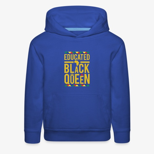 Educated Black Queen - Kids' Premium Hoodie
