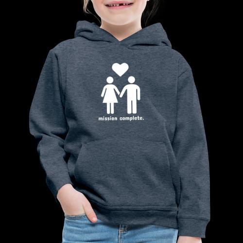 Mission Complete | In Love - Kids' Premium Hoodie