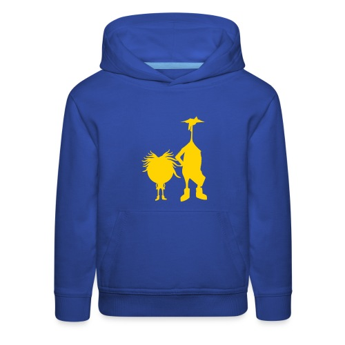 Official The Chicken and The Egg Design - Kids' Premium Hoodie