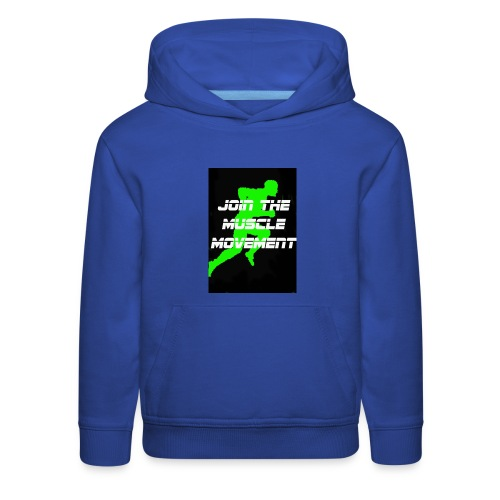 muscle movement - Kids' Premium Hoodie