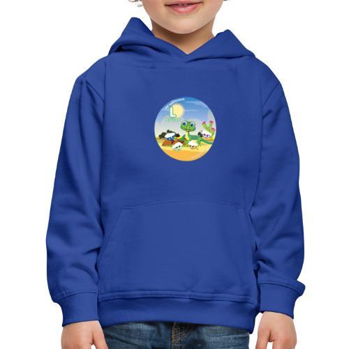Babyccinos Alphabet Letter L - Kids' Premium Hoodie