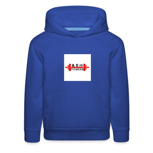 ASH FITNESS MUSCLE ACCESSORIES - Kids' Premium Hoodie