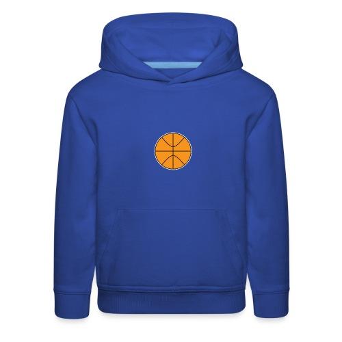 Plain basketball - Kids' Premium Hoodie