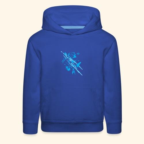 Blue Splash - Kids' Premium Hoodie