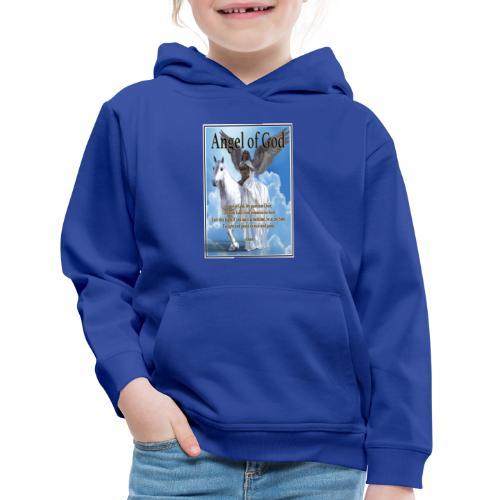 Angel of God, My guardian Dear (version with sky) - Kids' Premium Hoodie