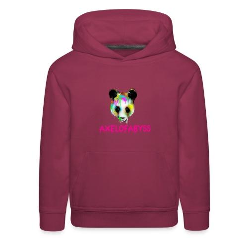 Axelofabyss panda panda paint - Kids' Premium Hoodie
