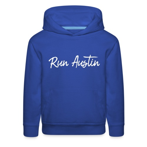 Run Austin Virtual Series - Kids' Premium Hoodie