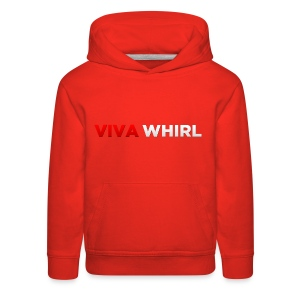 Viva Whirl Logo - Kids' Premium Hoodie