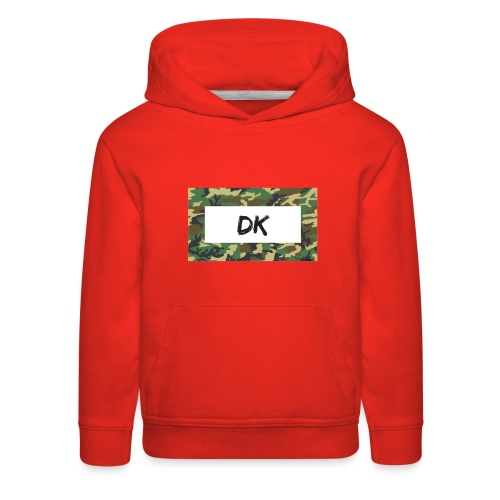 Camo - Kids' Premium Hoodie