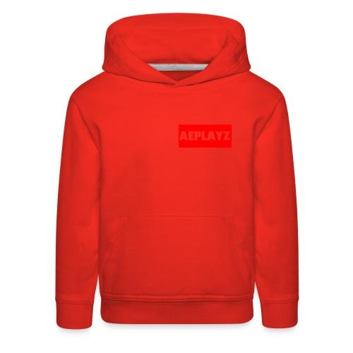 AEplayZ shirt logo - Kids' Premium Hoodie