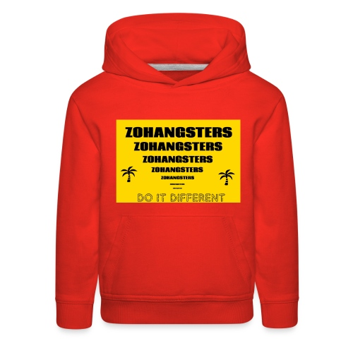 Big To Small ZOHANGSTERS TEE - Kids' Premium Hoodie