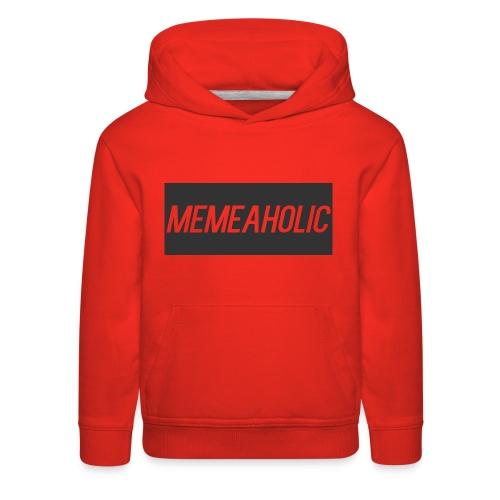 Memeaholic Logo - Kids' Premium Hoodie