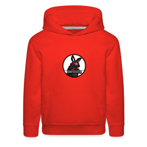 Bunny Assassin Logo - Kids' Premium Hoodie