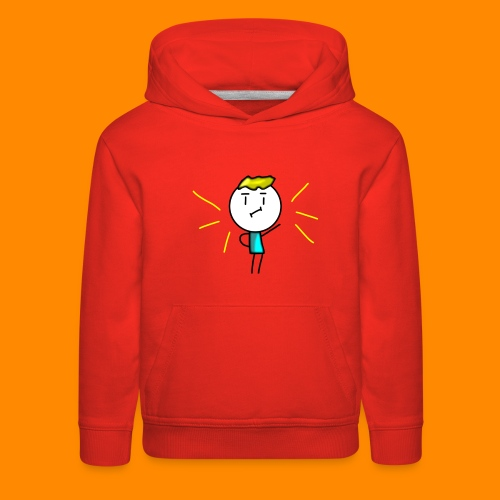 V-neck and more (Amazing Man) - Kids' Premium Hoodie
