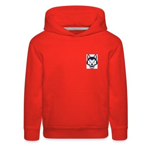 because its my fist logo - Kids' Premium Hoodie