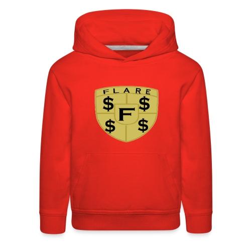 FLARE Shield Logo - Kids' Premium Hoodie