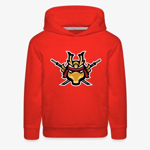 Samurai mascot - Kids' Premium Hoodie