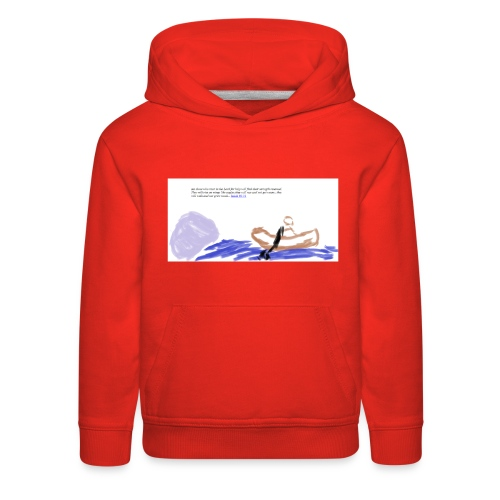 strenght in the Lord - Kids' Premium Hoodie